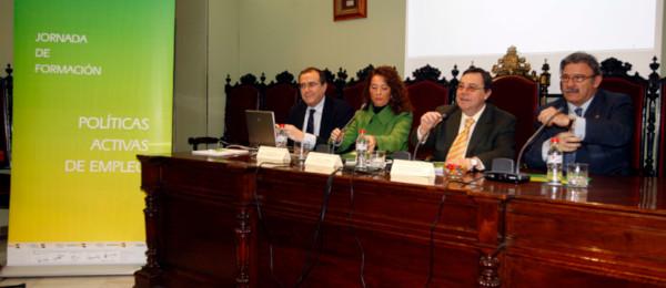 Jornadas de difusión sobre el fomento de las políticas activas de empleo de la Consejería de Empleo en Granada.
