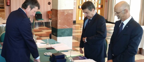 Toma de posesión de los nuevos Consejeros designados por las Juntas de Gobierno de los Ilustres Colegios de Abogados de Almería, Cádiz y Málaga.