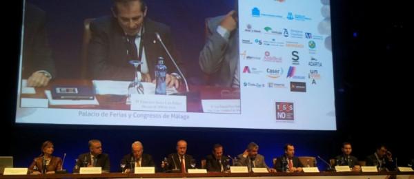 El Presidente del Consejo Andaluz, Excmo. Sr. D. José Pascual Pozo Gómez, en el 10 Congreso Jurídico de la Abogacía ICAMÁLAGA.