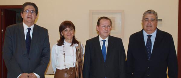 Reunión del Consejo Andaluz de Colegios de Abogados con el Consejero de Justicia e Interior.
