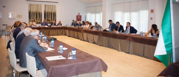 Toma de posesión de los nuevos Consejeros designados por las Juntas de Gobierno de los Ilustres Colegios de Abogados de Cádiz, Jaén y Sevilla.