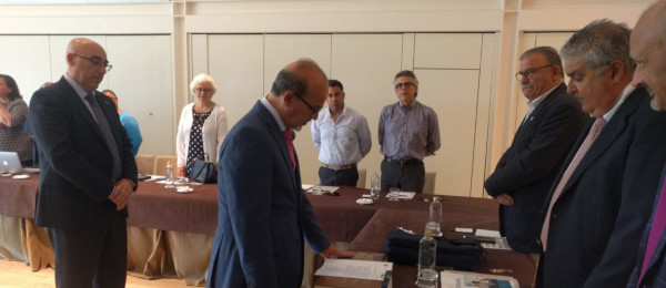 Toma de posesión de los nuevos Consejeros designados por las Juntas de Gobierno de los Ilustres Colegios de Abogados de Cádiz y Málaga.