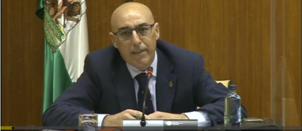Intervención del Presidente del Consejo Andaluz de Colegios de Abogados ante la Comisión del Parlamento de Andalucía sobre la recuperación económica y social a causa del COVID-19.