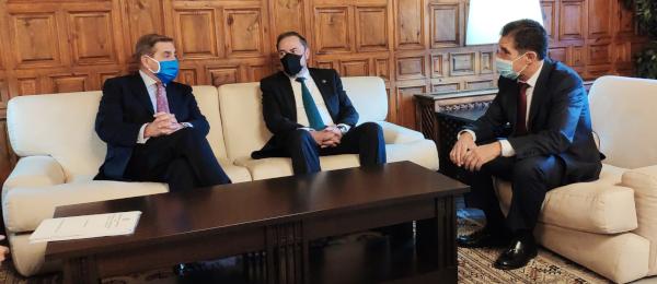 Reunión del Consejo Andaluz de Colegios de Abogados con el Presidente del T.S.J.A.