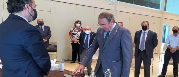 Elección del Presidente, Vicepresidente y Secretario General del Consejo Andaluz. (Junio 2021)